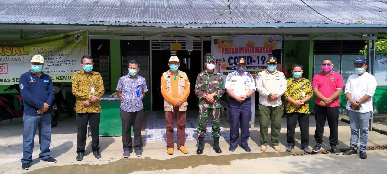 Kadinkes Inhil Tinjau Persiapan Posko Darah Perbatasan Riau Jambi